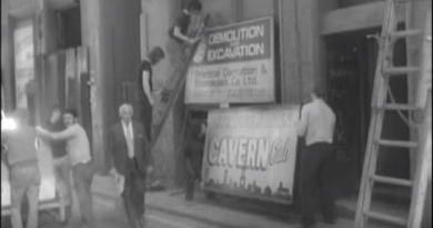 The Cavern Club being demolished