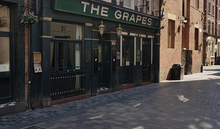 The Grapes on Mathew Street Closed
